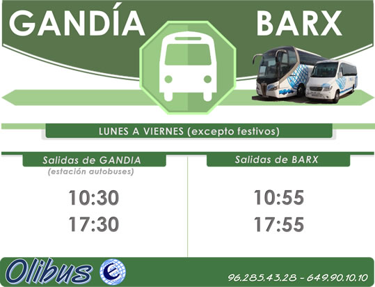 HORARIO - BARX